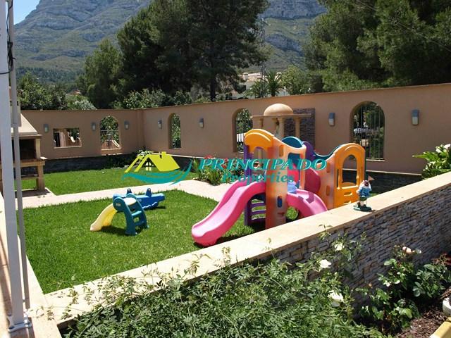 vistas del Villa de lujo en Denia