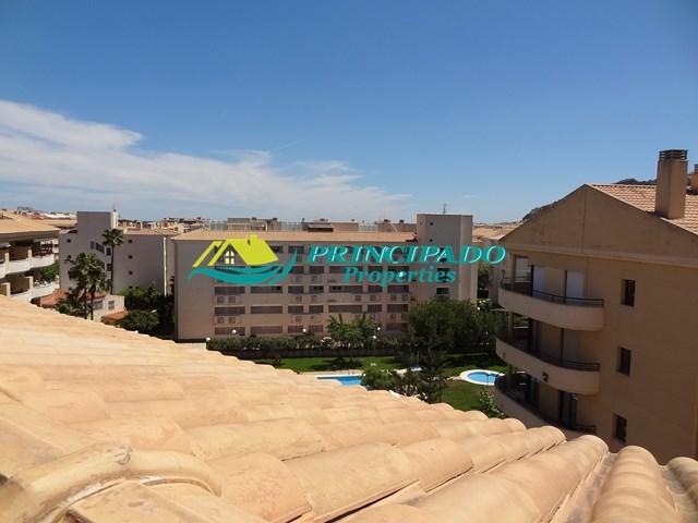 vistas del Dúplex en El Albir