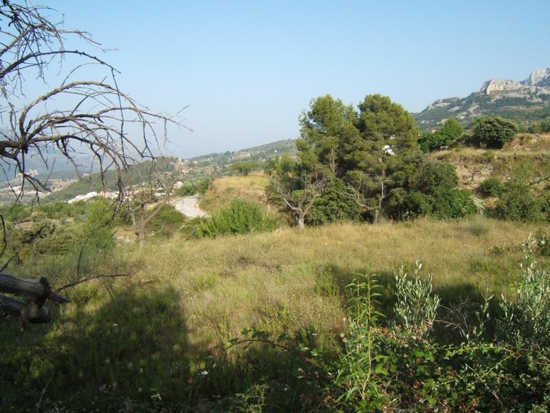 vistas del Terreno en Guadalest