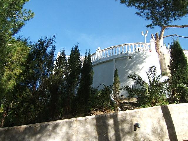 vistas del Bungalow en La Nucía